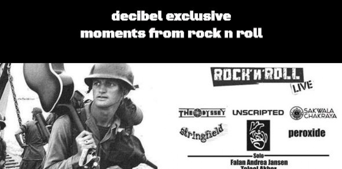 Decibel Exclusive : Moments From Rock N Roll
