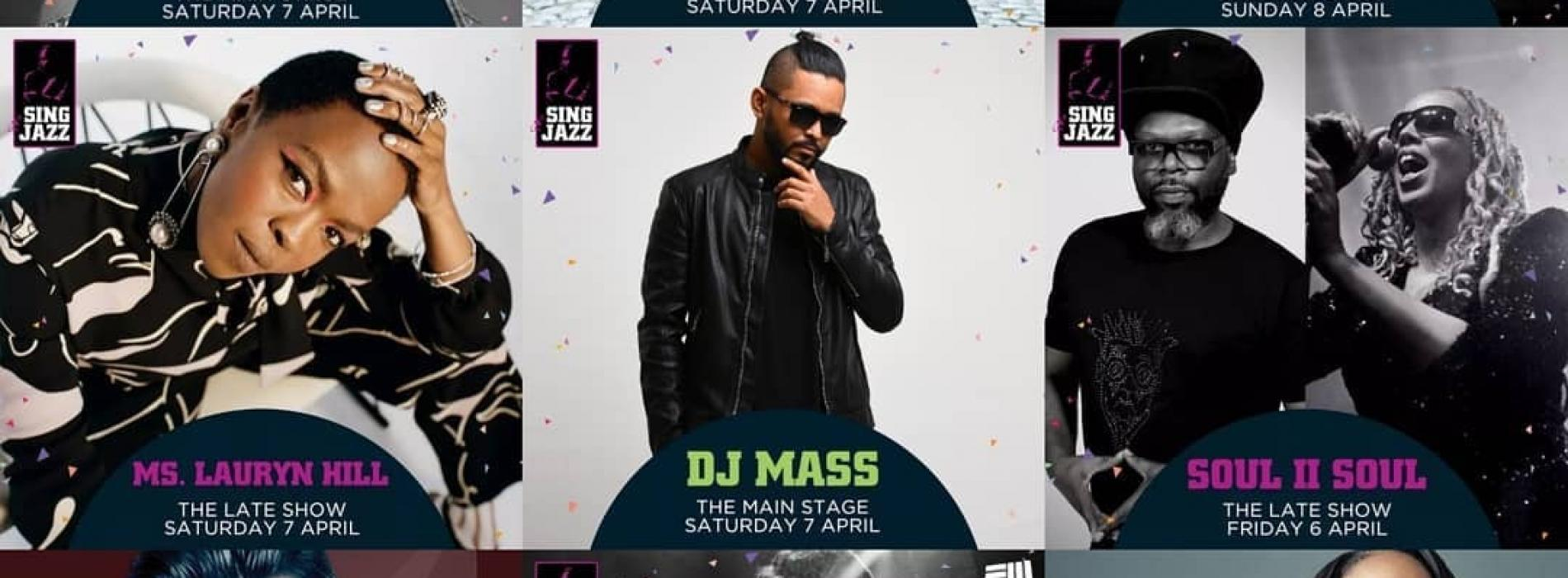 Dj Mass Will Be Performing @ At The Singapore Jazz Festival Today!