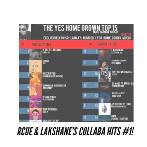 RCUE & Lakshane Top The YES Home Grown Top 15