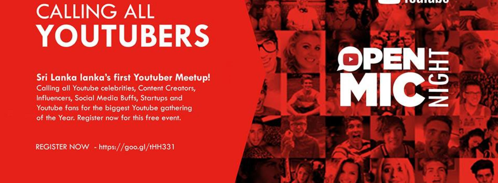 The Biggest Youtube Meet Is This Month!