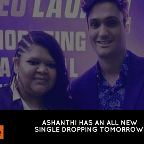 Ashanthi Will Be Releasing A New Music Video Tomorrow!