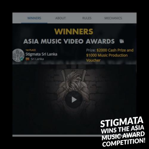 Stigmata Wins The Asia Music Video Award By ChannelFix