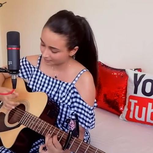 Stephanie Sansoni – Hitha Hiri Watunado/ Stand By Me (cover)