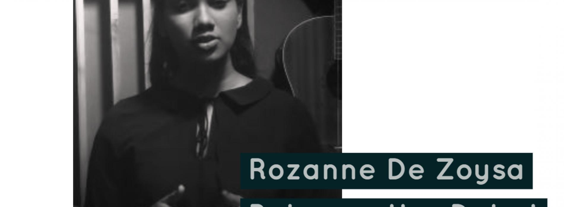 Rozanne De Zoysa – Faded (Acoustic Cover)