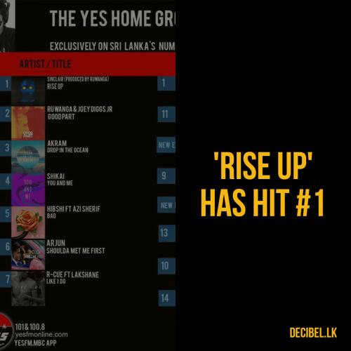 'Rise Up' Hits Number 1!