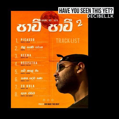 Rapper Costa Announces Tracklist