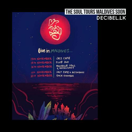 The Soul Tours The Maldives Soon!
