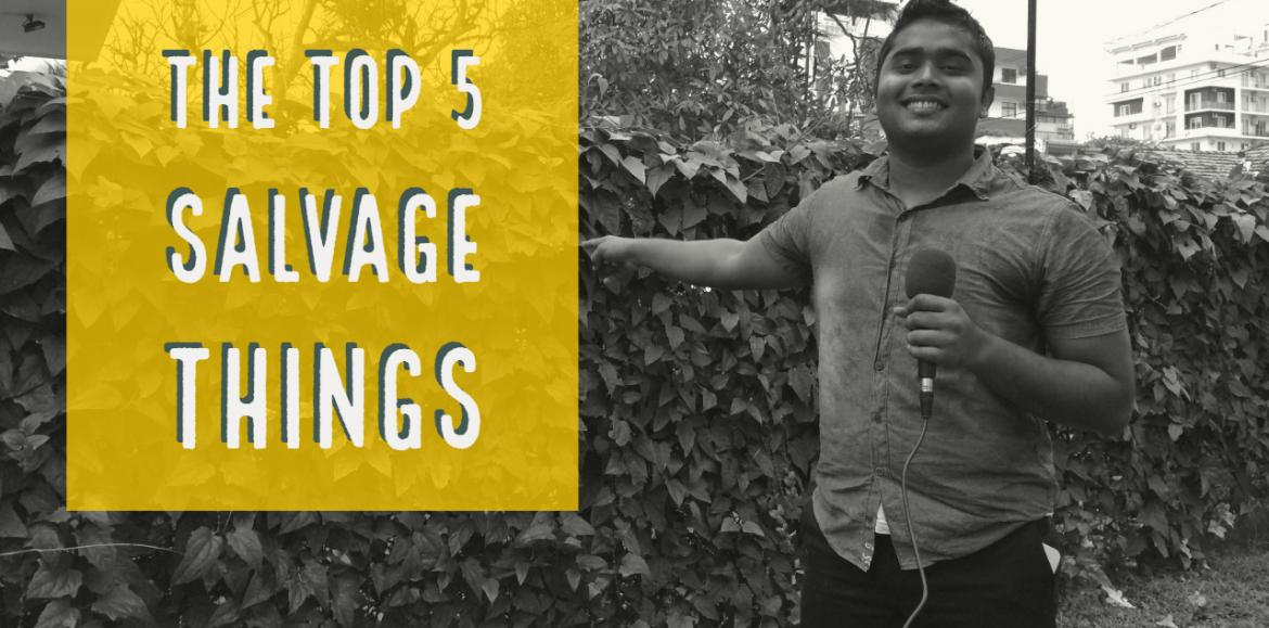 The Top 5 Things About Salvage – Decibel Top 5