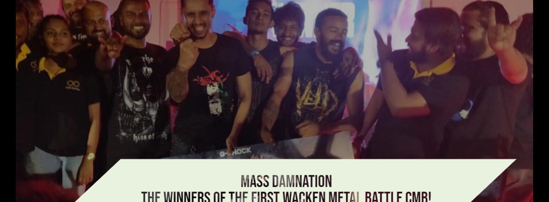 Mass Damnation : The Winners Of The 1st Wacken Metal Battle CMB