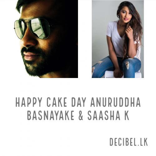 Happy Cake Day Saasha K & Anuruddha Basnayake