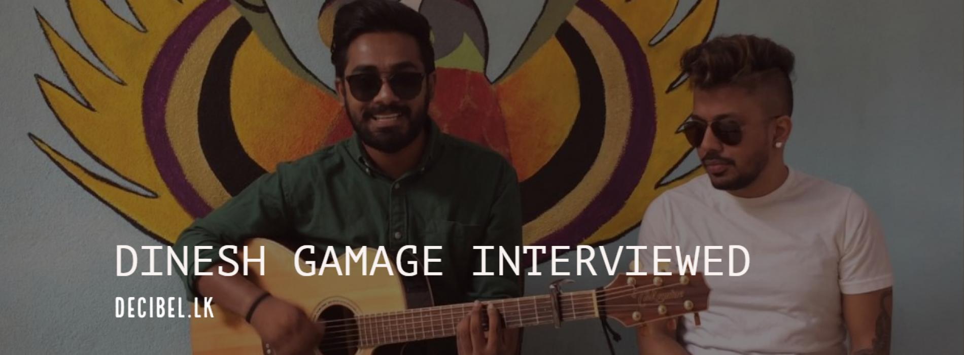 Dinesh Gamage Gets Interviewed