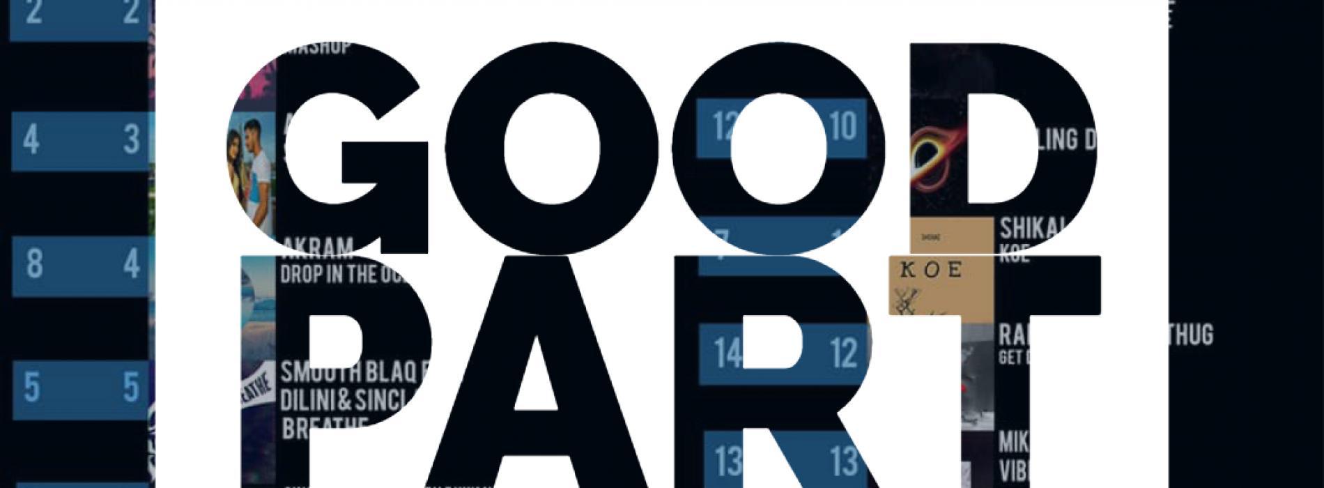 'Good Part' Still @ Number 1!