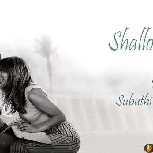 Subuthi Anuradha – Shallow (acoustic cover)