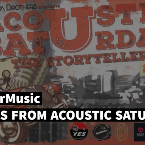 Moments From Acoustic Saturday