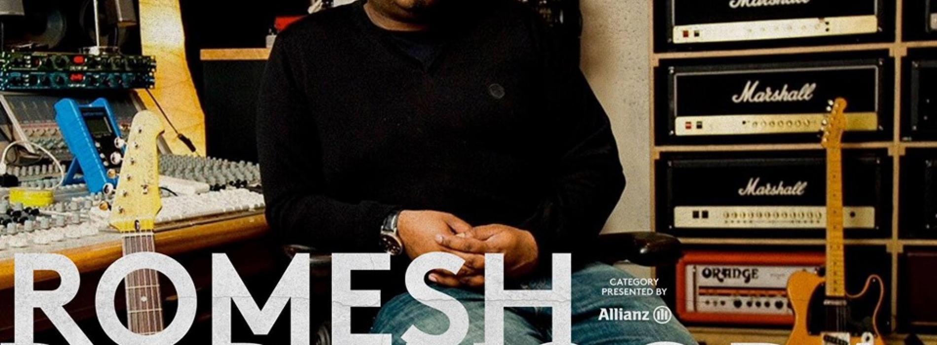 Romesh Dodangoda Is Nominated At This Years Heavy Music Awards!
