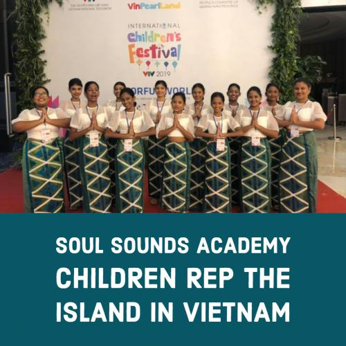 Soul Sounds Academy Children Rep The Island @ The International Children's Festival In Vietnam