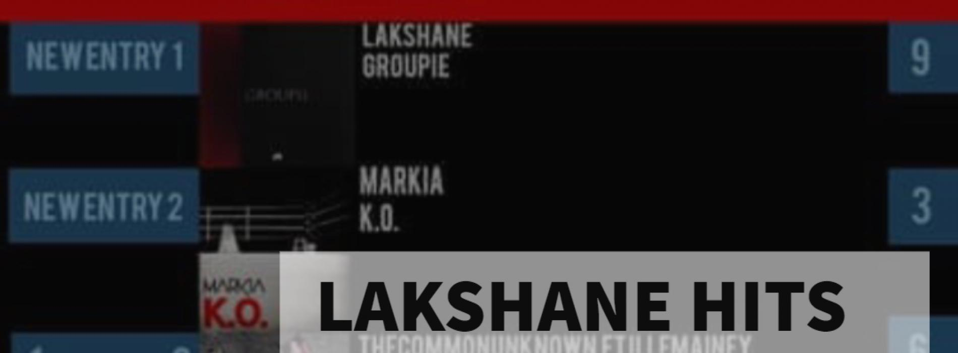 Lakshane Checks In At Number 1 With 'Groupie'