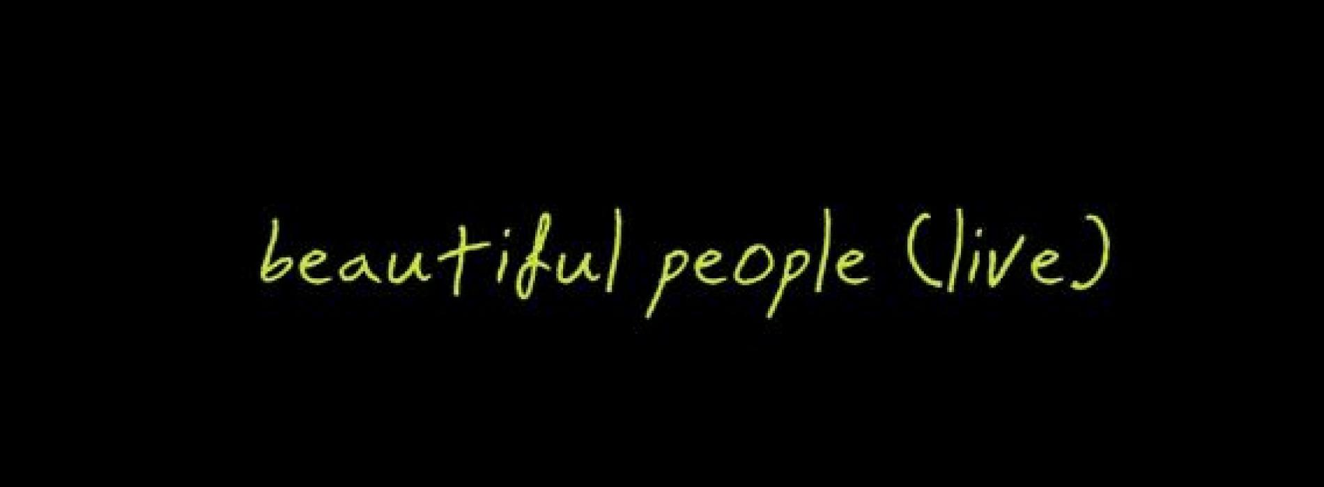 Minesh Dissanayake – Beautiful People (Live Cover)