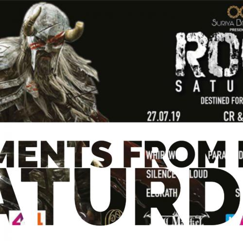 Moments From Rock Saturday