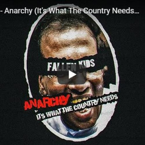 Fallen Kids – Anarchy (It's What The Country Needs) Lyrics Video
