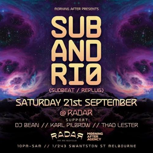 Subandrio To Hit Sydney & Melbourne This Weekend!