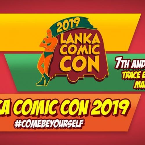 Lanka Comic Con Dates & Venue Have Been Announced!
