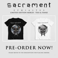 Sacrament Releases Merch!