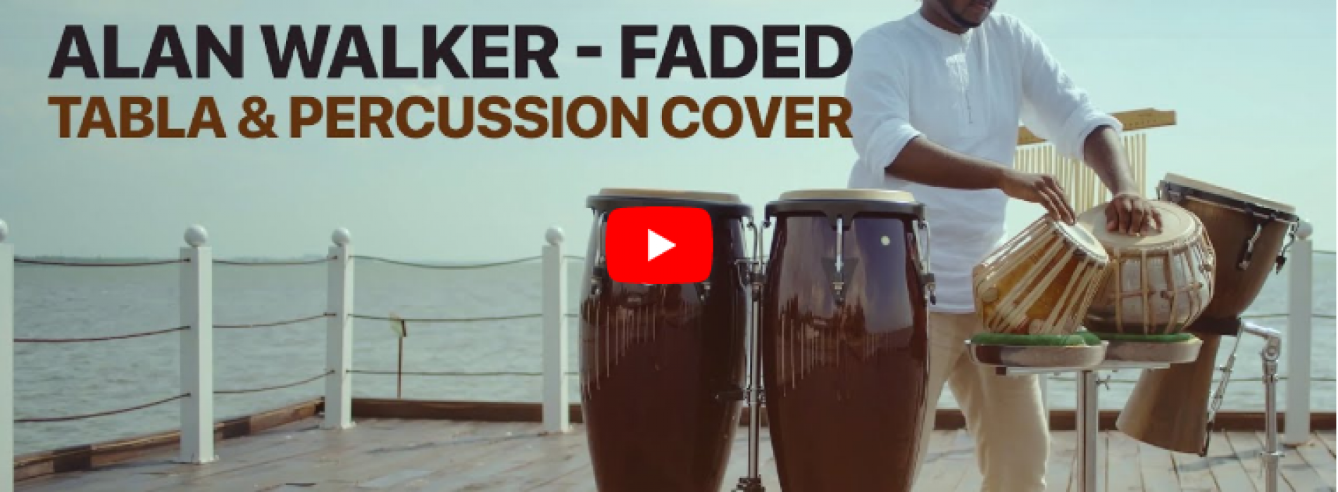 Alan Walker – Faded (Tabla & Percussion Cover) Sashika Shaliya | Pettah Effect