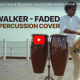 Alan Walker – Faded (Tabla & Percussion Cover) Sashika Shaliya | Pettah Effect