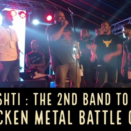 Dhisthi Wins The 2nd Wacken Metal Battle!