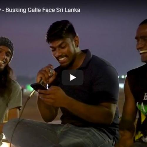 No Woman No Cry – Busking Galle Face Sri Lanka