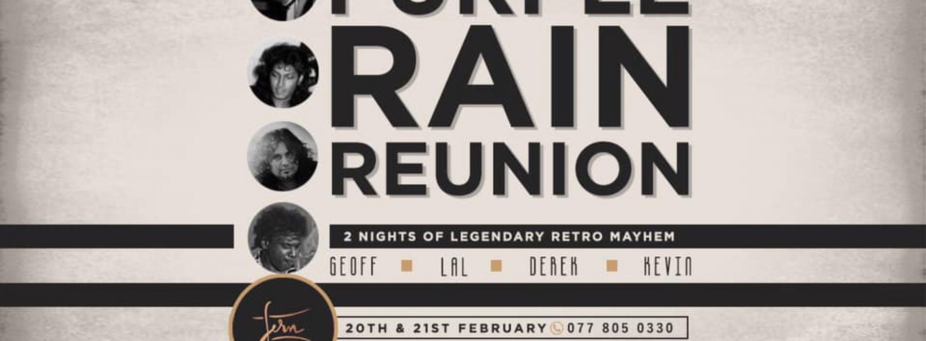 Purple Rain Reunion // A Special Live Performance