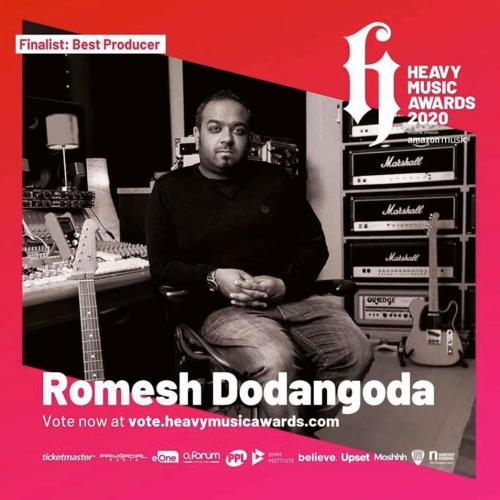 Romesh Dodangoda Is In The Running For An Award!
