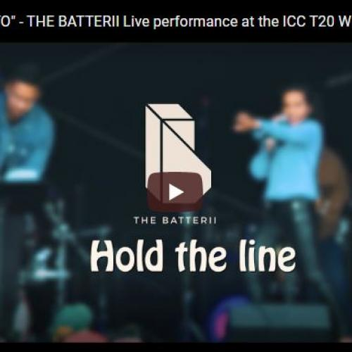 "Hold The Line ""TOTO"" – THE BATTERII Live performance at the ICC T20 Women's World Cup Australia 2020"