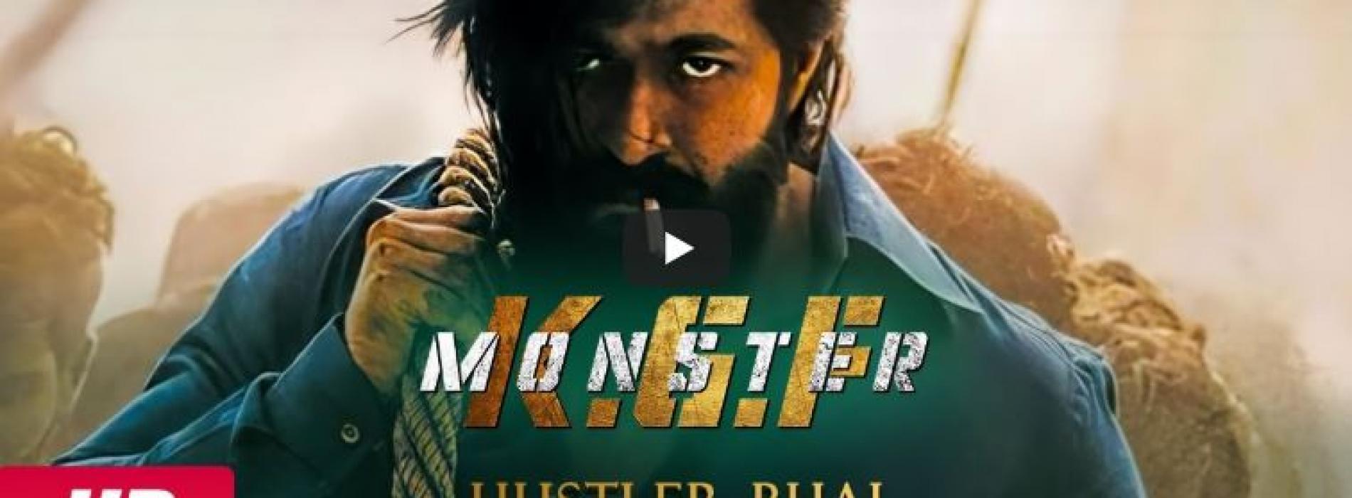 KGF – Monster | Hustler Bhai Ft. Hyde Karty (Official Music Video) | Moon | Slimkiller | كي.جي.اف