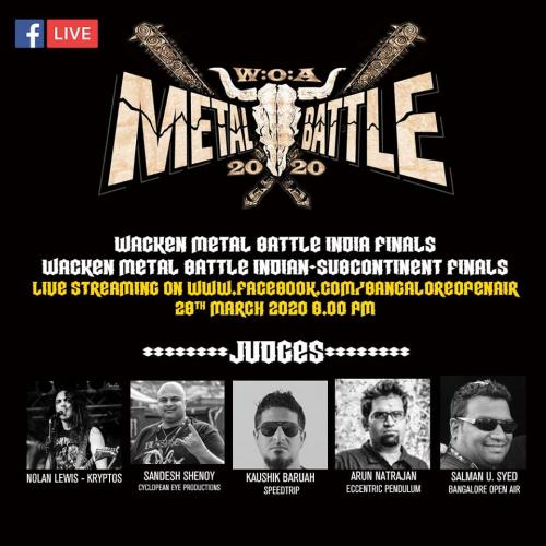 Wacken Metal Battle Finals – The Indian Subcontinent