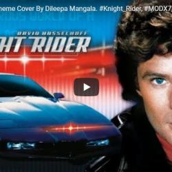 Knight Rider Theme Cover By Dileepa Mangal