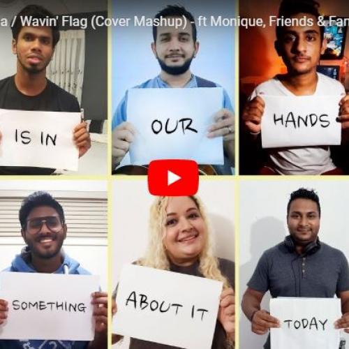 OiC – Lanka Matha / Wavin' Flag (Cover Mashup) – ft Monique, Friends & Family (Easter '19/COVID 19)