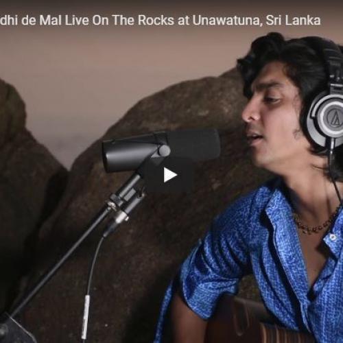 Ray Of Love – Buddhi De Mal Live On The Rocks At Unawatuna, Sri Lanka