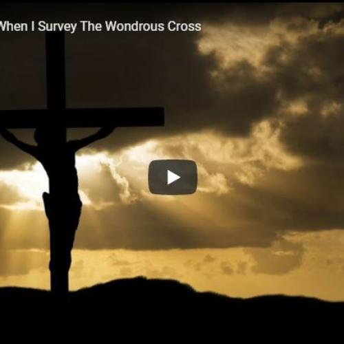 Sanjeev Niles – When I Survey The Wondrous Cross