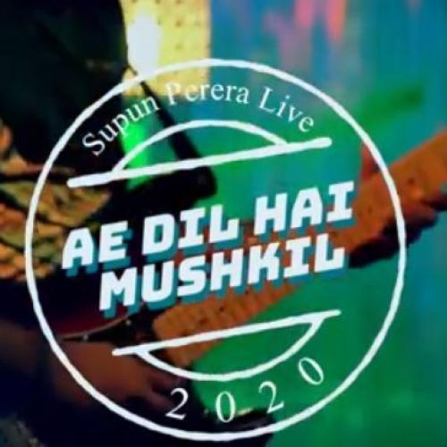 Supun Perera | Ae Dil Hai Mushkil (Arijit Singh) live with Wings @ Y Unplugged Studio | Sirasa TV