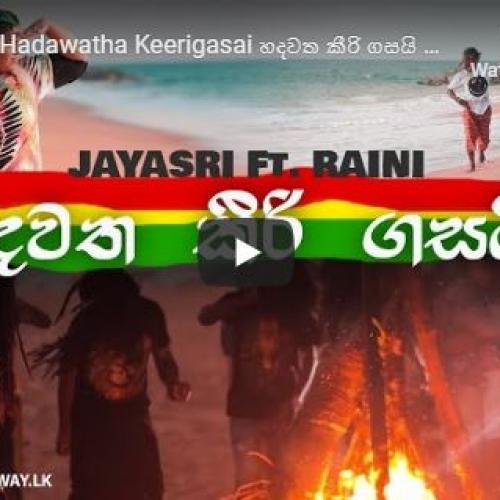 Jayasri Ft Raini – Hadawatha Keerigasai හදවත කීරි ගසයි Official Music Video
