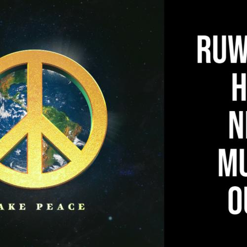 Ruwanga Releases New Music & It's For A Great Cause Too!