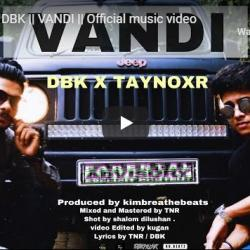Taynoxr x DBK || VANDI || Official Music Video