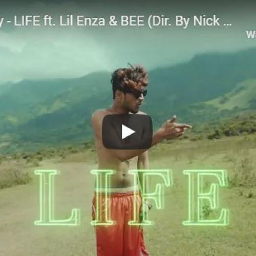 New Music : Wild Skatey – LIFE ft Lil Enza & BEE (Dir By Nick Leoz)
