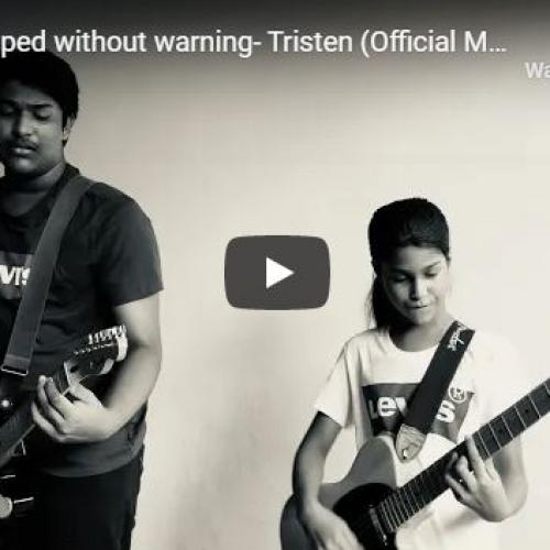 New Music : Time Stopped Without Warning – Tristen (Official Music Video)