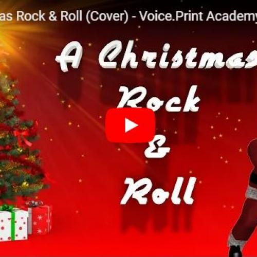 New Music : A Christmas Rock & Roll (Cover) – Voice Print Academy | Junior Choir