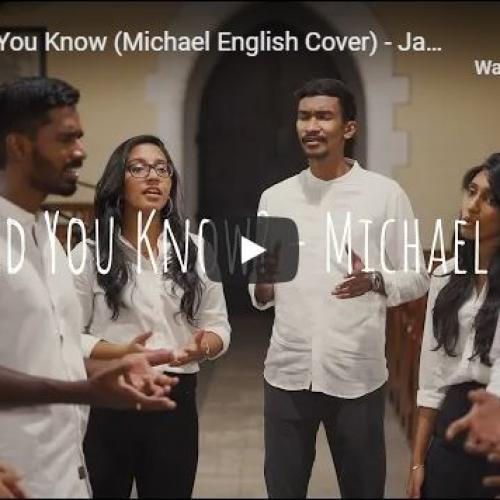 New Music : Mary Did You Know (Michael English Cover) – Jam Colombo