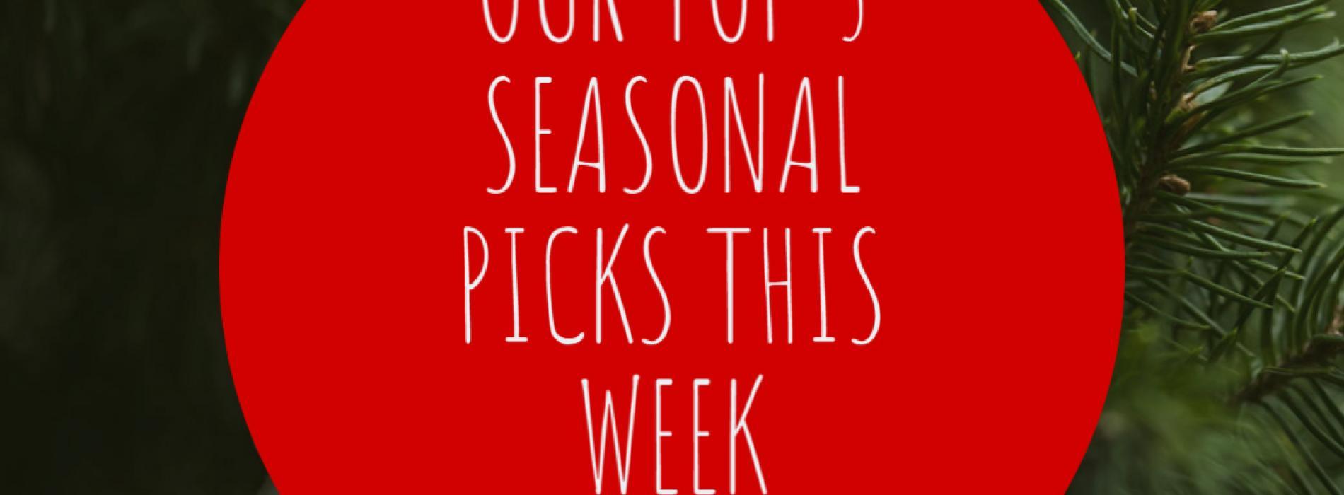 The Top 5 Christmas Picks This Week!