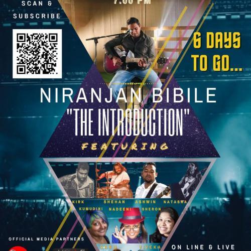 "Concert : Niranjan Bibile ""The Introduction"""